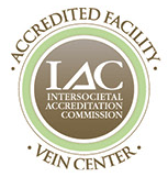 We Are Now an IAC Accredited Vein Center